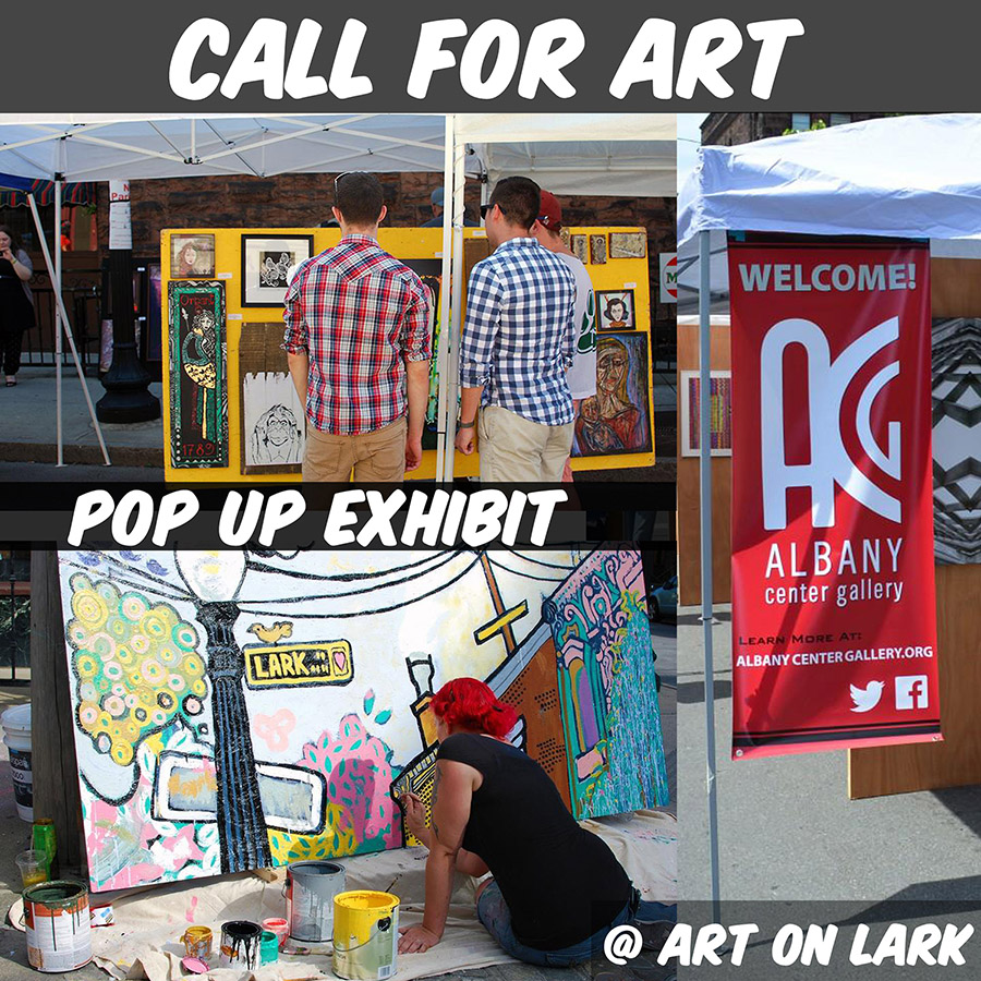 Call for Art Pop Up Exhibit at Art on Lark