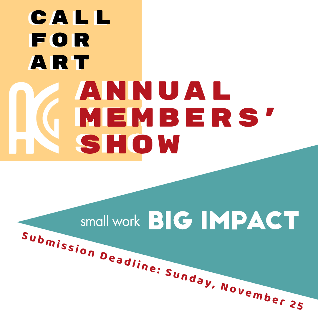 Call for Art: ACG's Annual Members' Show