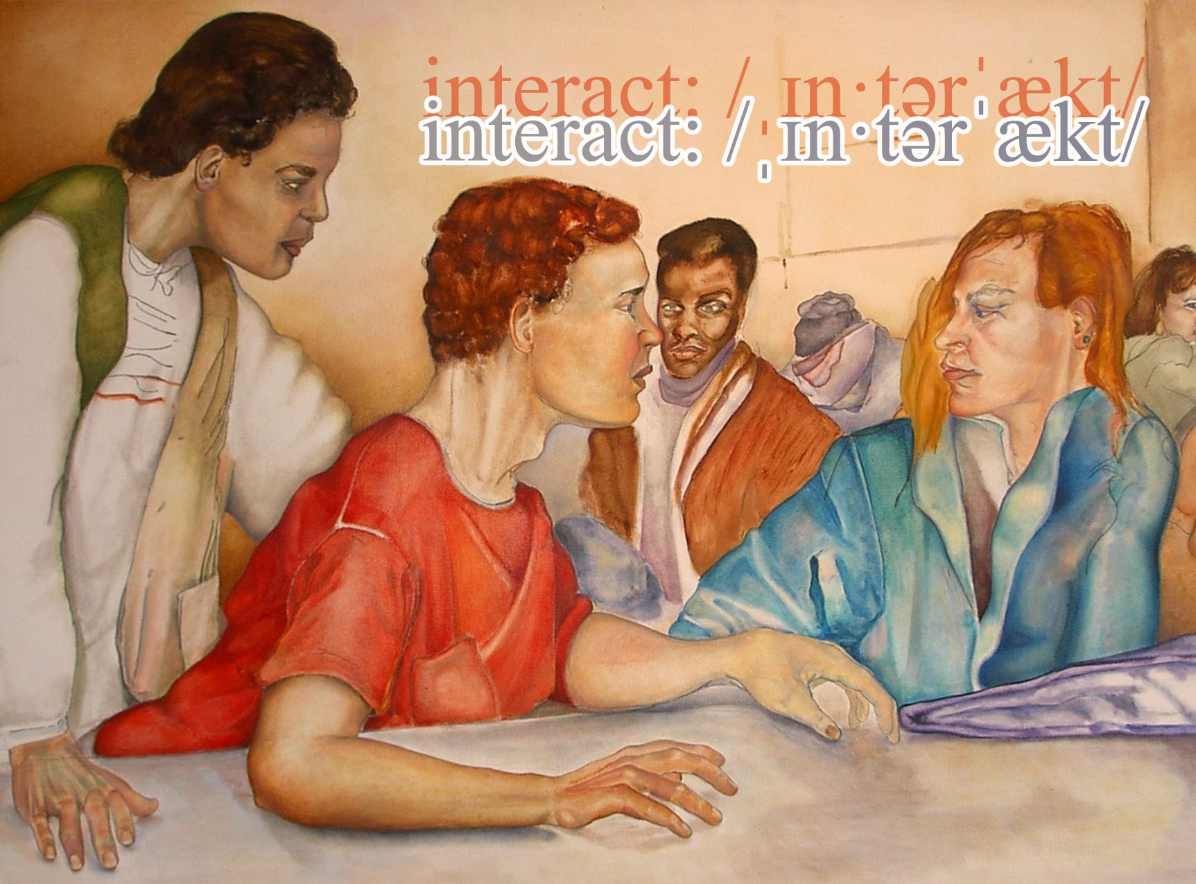 interact postcard front