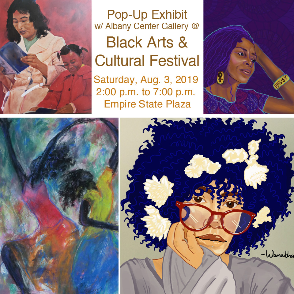Featured Artists that will be at our Black Arts and Cultural Festival Booth. Highlighting black excellence and beauty