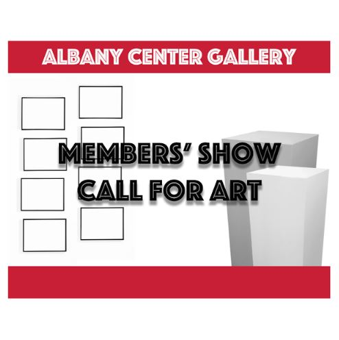 Members Show Call for Art at Albany Center Gallery