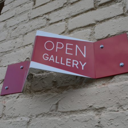 Open Gallery sign.